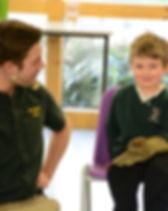 ranger stu school visit