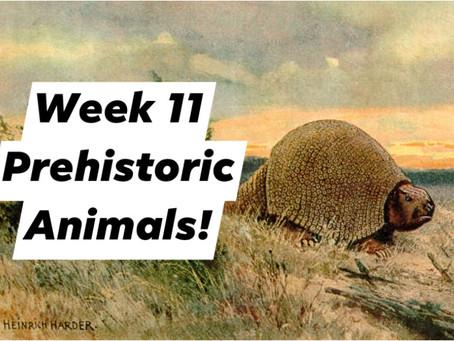 Ranger Stu's Virtual Zoo - Week 11 - Prehistoric Animals!