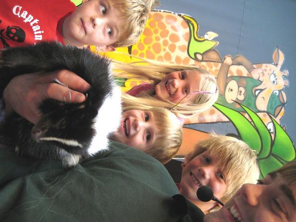 ranger stu animal parties