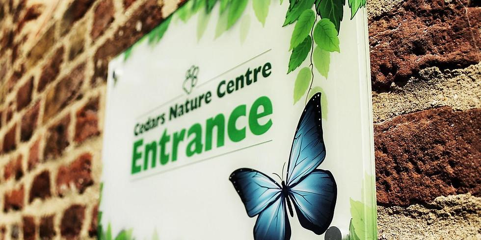 Tickets - Cedars Nature Centre (10-10:45am)