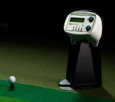Touchless driving range control panel