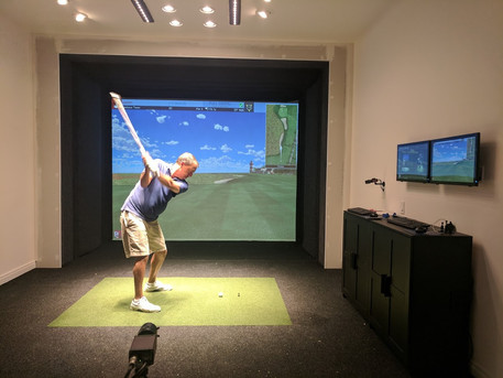 Full Swing Simulator practice