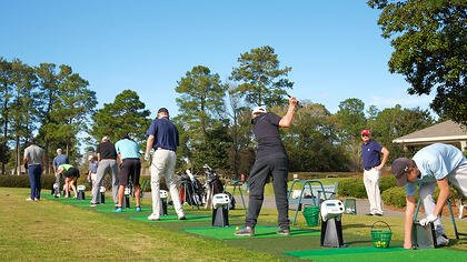 Timbercreek country club power tee touchless range system