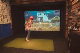 Full Swing Simulator dodgeball