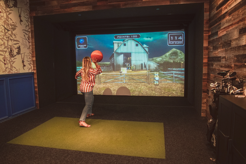 Full Swing Simulator dodgeball