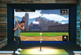 Full Swing Simulator tee ball