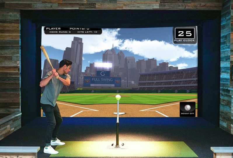 Full Swing Simulator tee ball