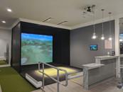 Full Swing Simulator single unit