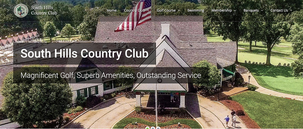 private-club-website-sample