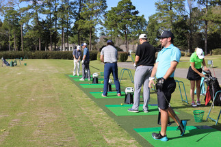 Touchless range at country club