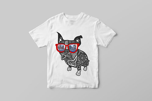 Boston Terrier Youth T-shirt