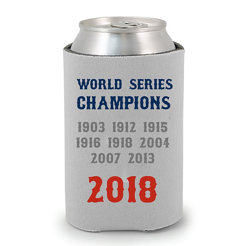 Red Sox World Series Can Holder
