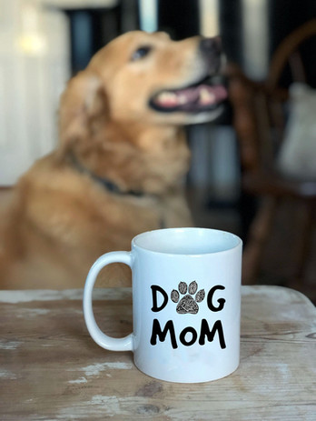 Sarah Hiers Design Dog Mom Coffee Mug