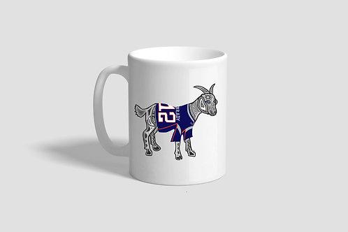 Tom Brady GOAT Mug