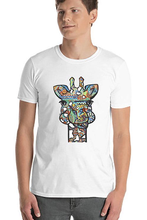 Colorful Giraffe Unisex Tshirt