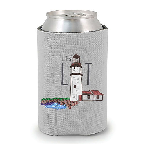 It's Lit Lighthouse Can Holder