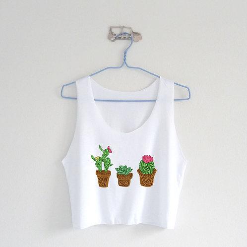 Cactus Crop Tank
