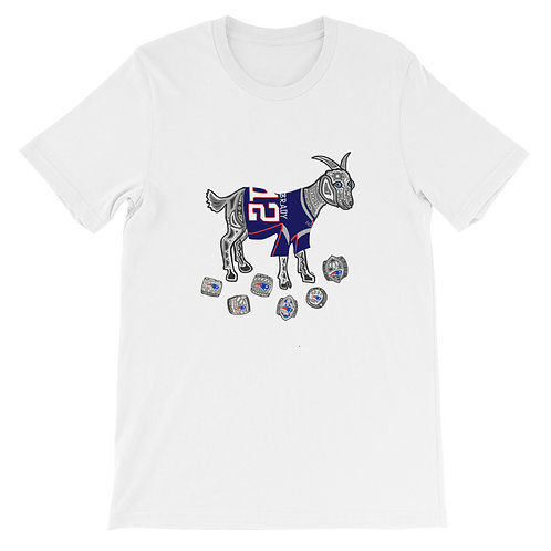 Tom Brady GOAT Superbowl Rings Tshirt