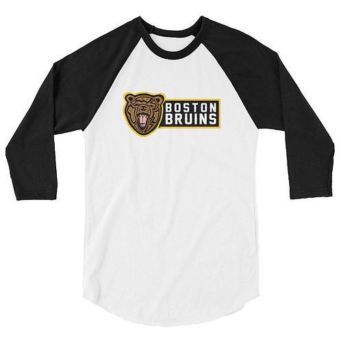 Boston Bruins Baseball Tee