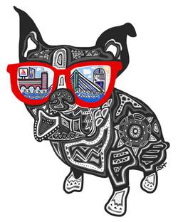 Boston Terrier 8x10