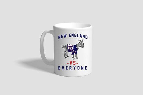New England VS. Everyone Mug