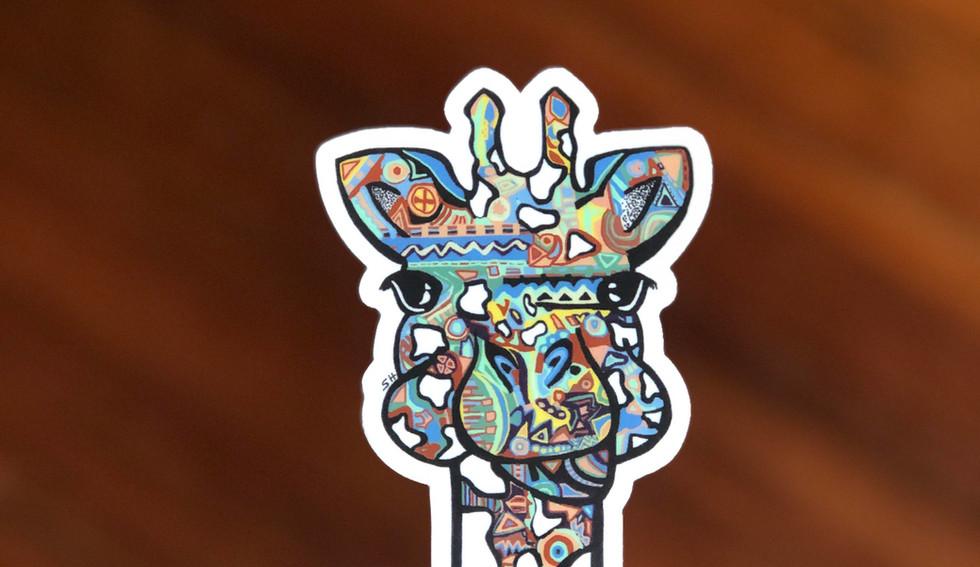 Sarah Hiers Design Die Cut Stickers Gira