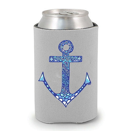 Ship Faced Anchor Can Holder
