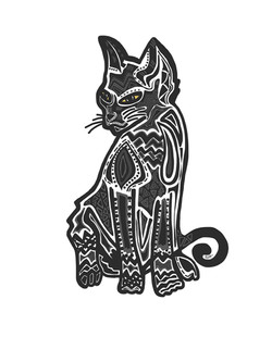 cat vector oiriginal
