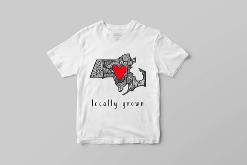 Locally Grown (MA) Youth T-shirt