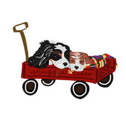 snuggle wagon king charles