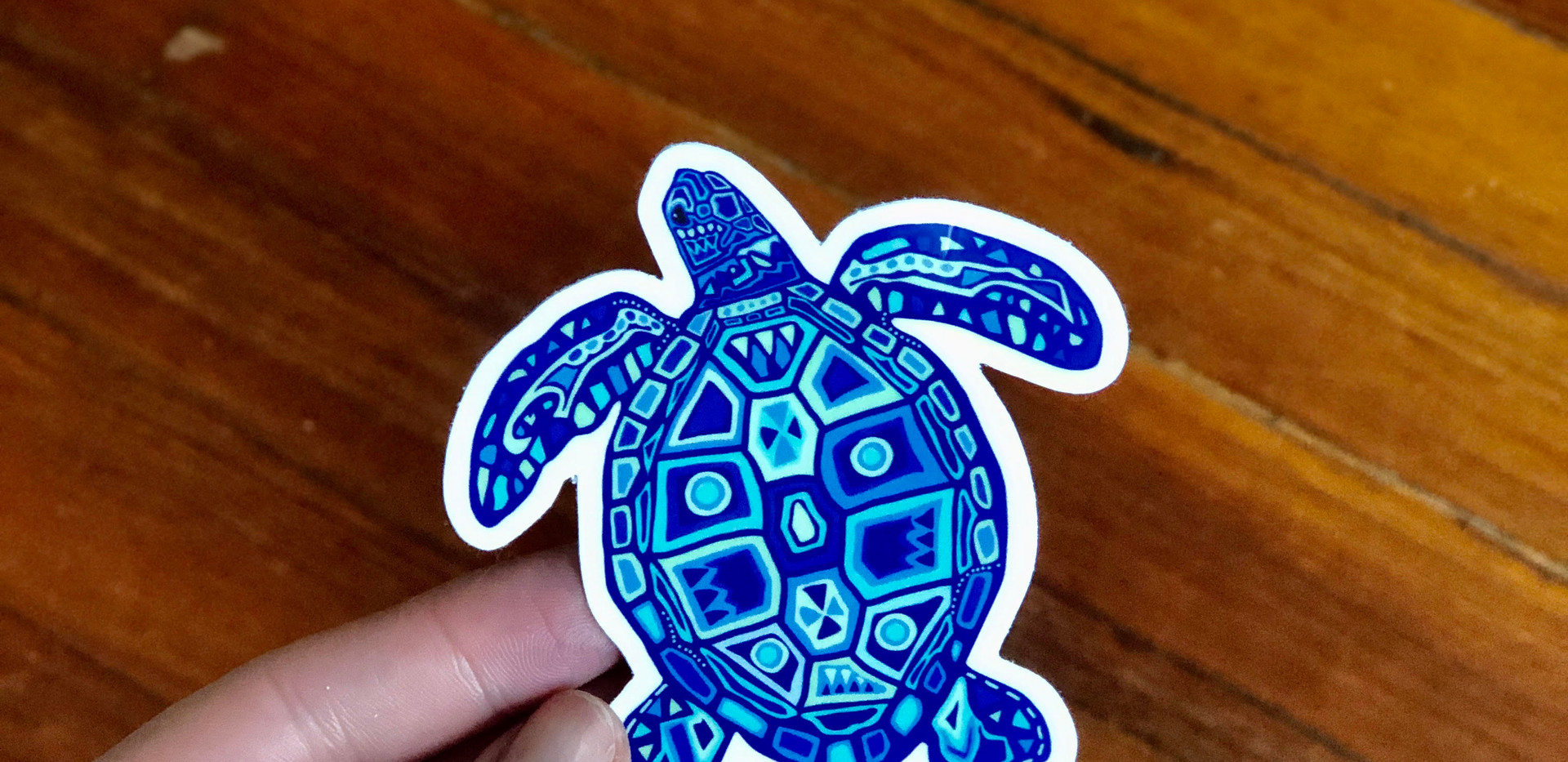 Sarah Hiers Design Die Cut Stickers Sea