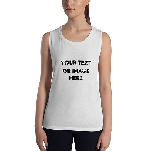 Custom Design Womens Muscle Tank