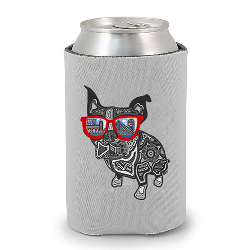 Boston Terrier Can Holder