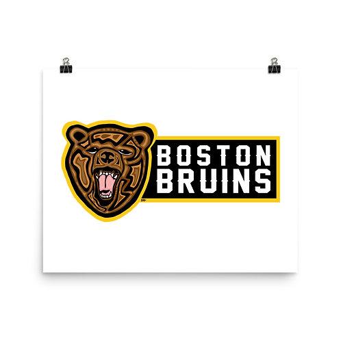 Boston Bruins Print