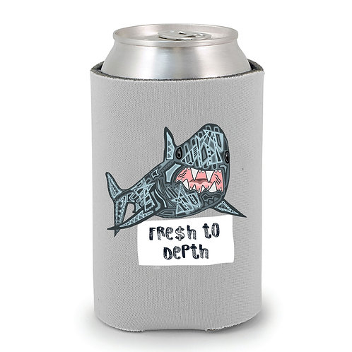 Fresh to Depth Shark Can Holder