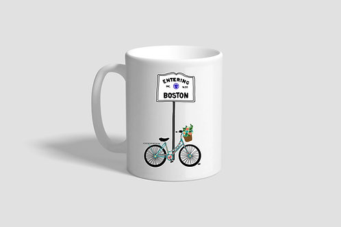 Boston Bike Mug