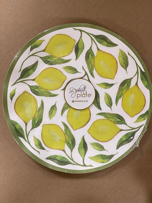 Lemon Dinner Plates