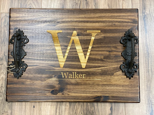 Large Personalized Wood Board