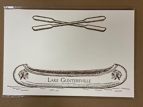 Lake Guntersville Paper Placemats
