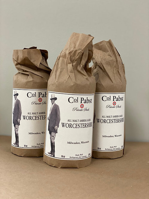 Col Pabst Worcestershire Sauce