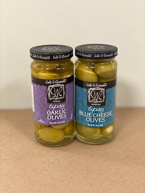 Tipsy Olives