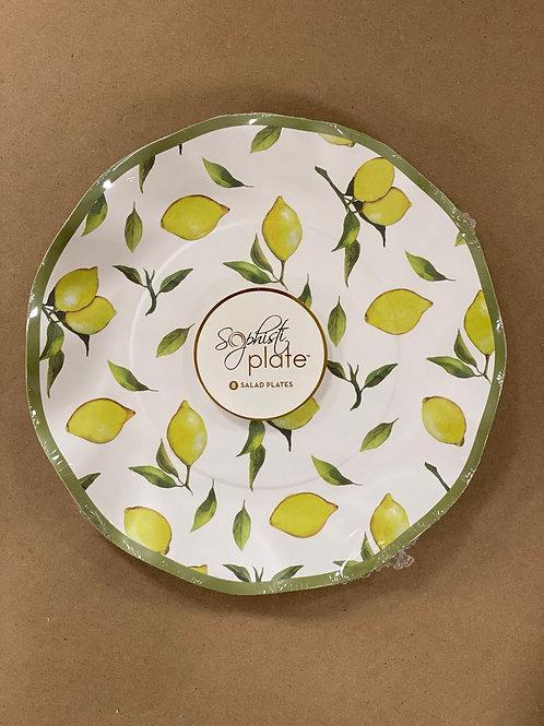 Lemon Salad Plates