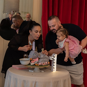 Mila's First Birthday Party