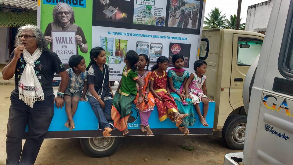 #gopushgo, gopushgo.co.uk , Pushpanath Krishnamurthy, Make Trade Fair, Climate Justice, India, Social activism, Fairtrade, Oxfam, Campaigner
