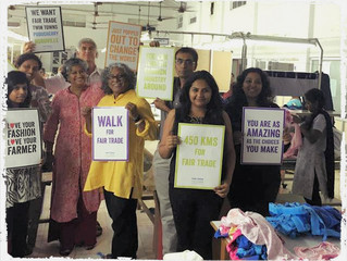 Walking for the first Fair Trade towns in India