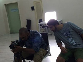 Fantastic film making in progress