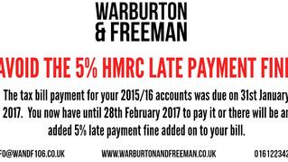 Avoid The HMRC Late Fee
