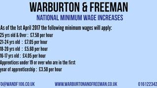 New National Minimum Wage
