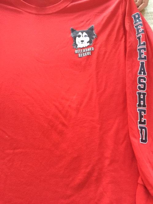 Releashed Long Sleeve t-shirt plain back