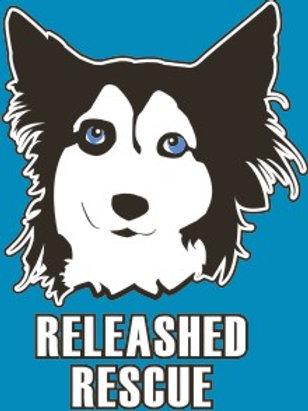 """Blue """"Nothing Butt Huskies"""" T-Shirt"""